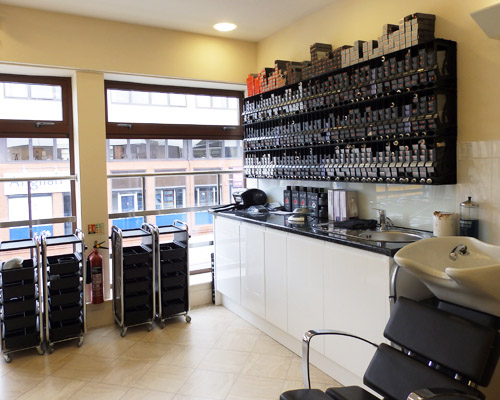 Cutting Garden hair salon Plymouth