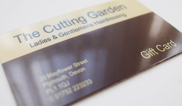 Cutting Garden Hair Plymouth gift voucher