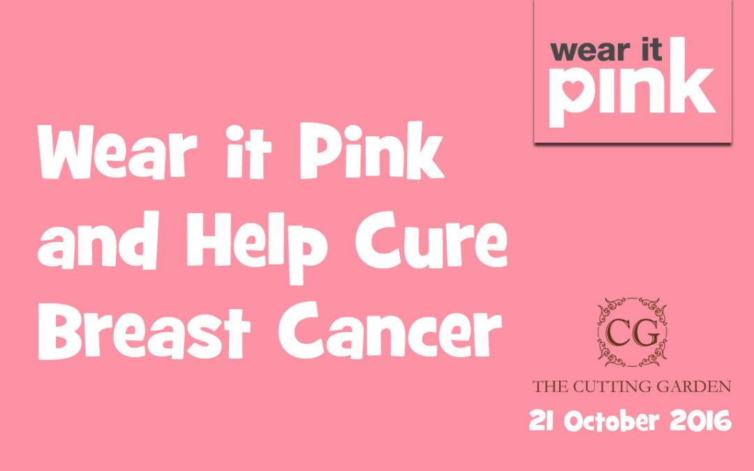 Wear it Pink and Help Cure Breast Cancer