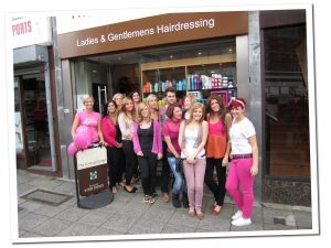 Our Wear it Pink Day in 2011