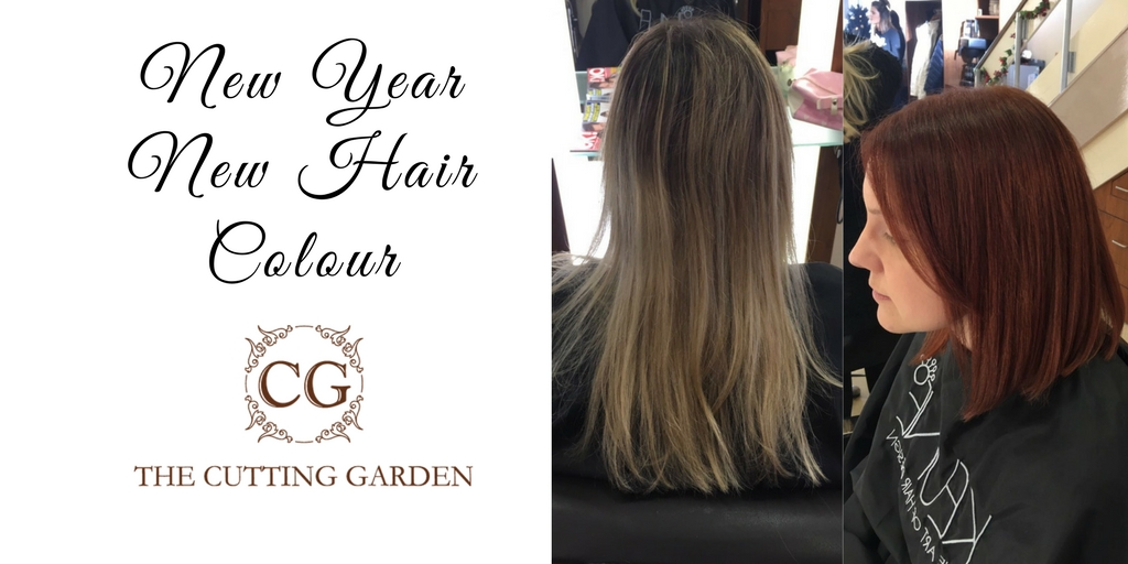 New Year New Hair Colour from The  Cutting Garden
